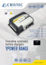 YPOWER AC-DC battery chargers