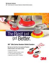 3M™ Elite Series Air-Powered Random Orbital/Orbital Sanders