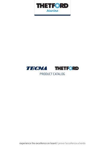 Thetford Marine Product Catalog international (2021)