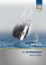 SPRENGER Boat fittings 2015/16