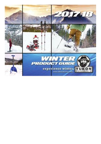 2017-18 Yukon Charlie's Airhead Sportsstuff Winter Catalog