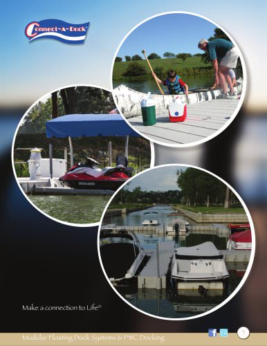 Modular Floating Dock Flyer 2015