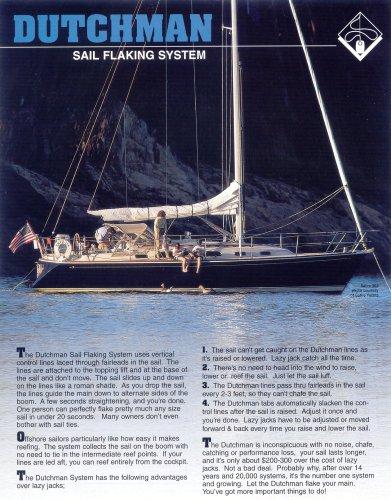 DUTCHMAN sail flaking system