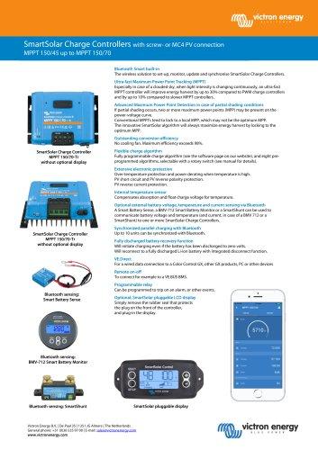 MPPT 150/45 up to MPPT 150/70