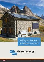 Off-grid, Back-up and Island systems