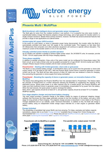 Phoenix MultiPlus