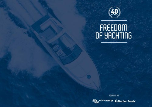 Victron Energy and Fischer Panda: Freedom of Yachting