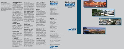 Unifloat Concrete Floating Dock System Brochure