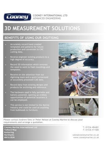 3D Digitising Fact Sheet