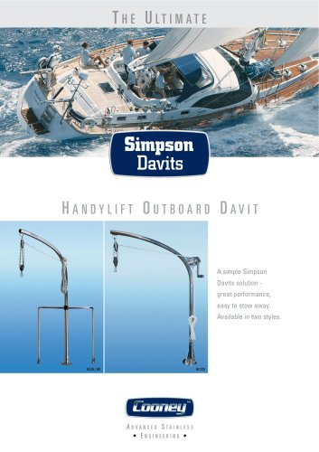 Handylift-Outboard-Davits