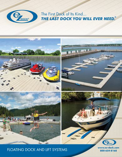 EZ Dock 2013 Catalog