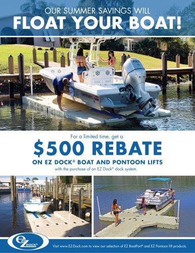 EZ DOCK® BOAT AND PONTOON LIFTS