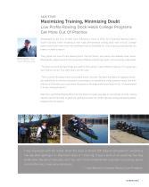 Low Profile Rowing Dock - 5