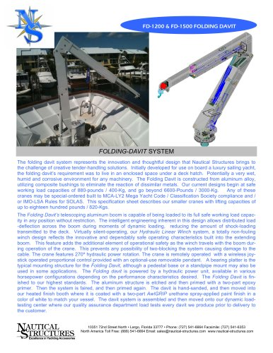 FD880-1800-EX-Folding Davit-2010
