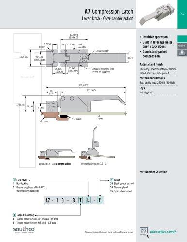 A7  Compression Latch