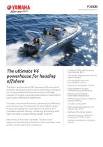 The ultimate V6 powerhouse for heading offshore