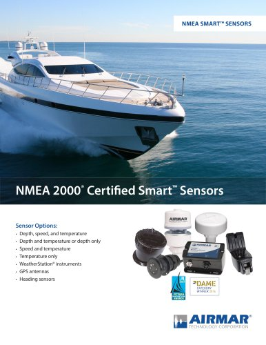 NMEA SmartSensor Overview