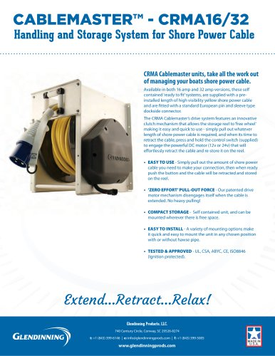Cablemaster™ Model CRMA-16/32