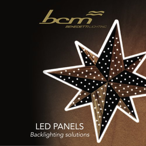 LED PANELS Backlighting solutions