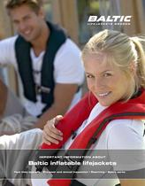 Important information about Baltic inflatable lifejackets