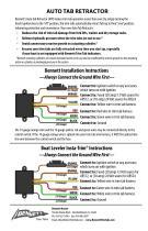 Bennett Marine Auto Tab Retractor 12 Volt AR512