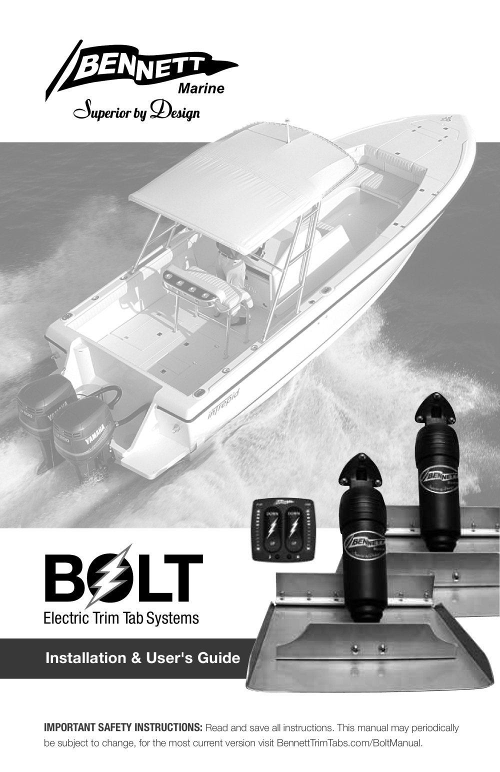 Bolt Bennett Marine Pdf Catalogues Documentation Boating Rocker Switch Wiring Diagram 1 40 Pages