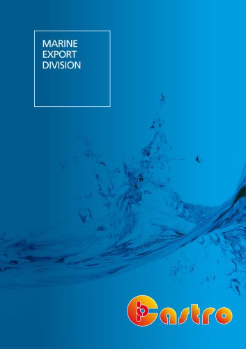 Marine Division catalogue