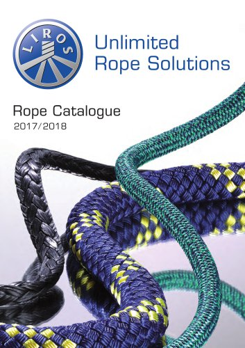 Rope Catalogue 2017/2018