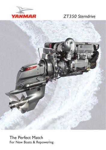ZT350 Sterndrive