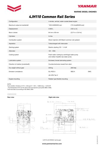 4JH110 Common Rail Series