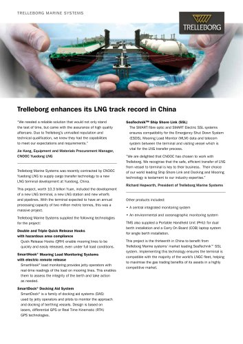 Case Study - LNG terminal, China