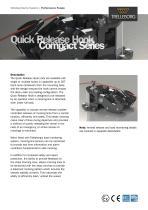 Datasheet - Quick Release Hook Compact Series