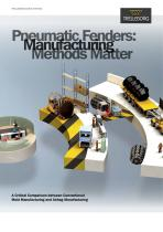 Pneumatic Fenders: Manufacturing Methods Matter Whitepaper
