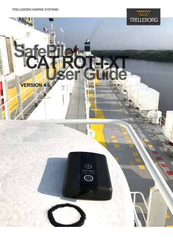 SafePilot CAT ROT-I-XT User Guide