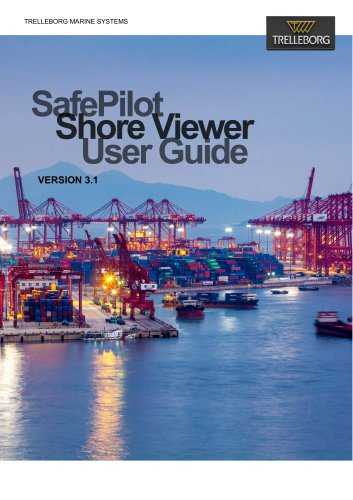 SafePilot Shore Viewer User Guide