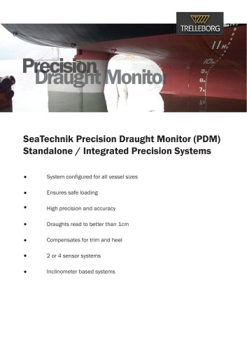 SeaTechnik - Precision Draught Monitor