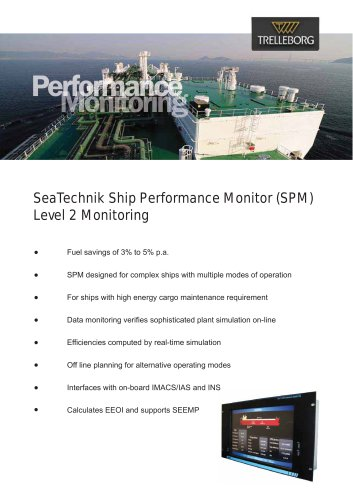 SeaTechnik Ship Performance Monitor (SPM)  Level 2 Monitoring