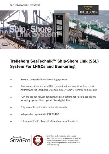 Ship Shore Link System
