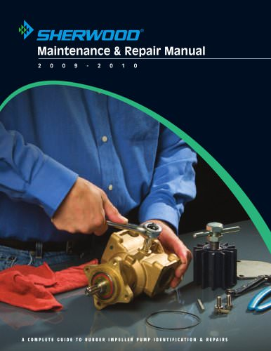 Sherwood Maintenance and Repair Manual