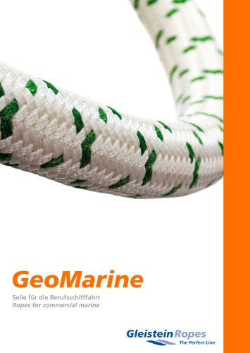 GeoMarine – ropes and other solutions for the commercial marine industry