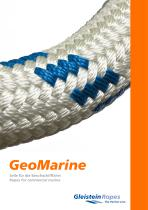 GeoMarine ? ropes and other solutions for the commercial marine industry