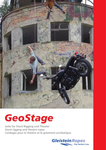 GeoStage - Stunt rigging and theatre ropes