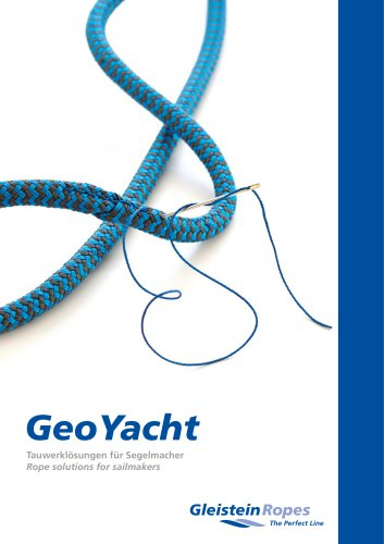 Rope solutions for sailmakers