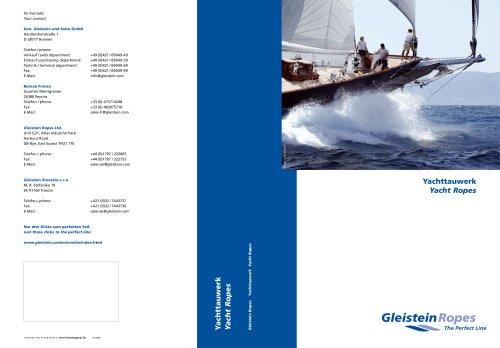 Yacht Rope catalogue 2008