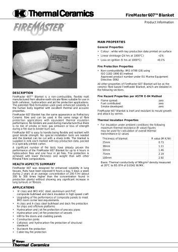 FireMaster607 Blanket