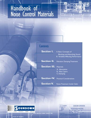 Handbook of Noise Control Materials