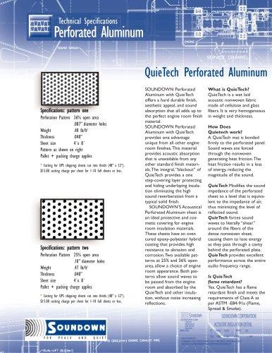 QuieTech Perforated Aluminum