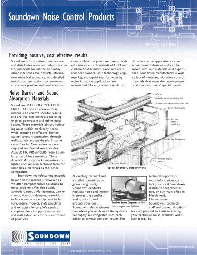 Soundown Product Guide
