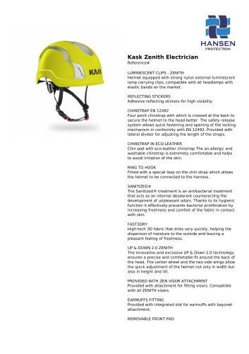 Kask Zenith Electrician