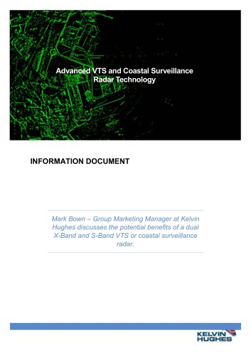 ADVANCED VTS AND COASTAL SURVEILLANCE RADAR TECHNOLOGY
